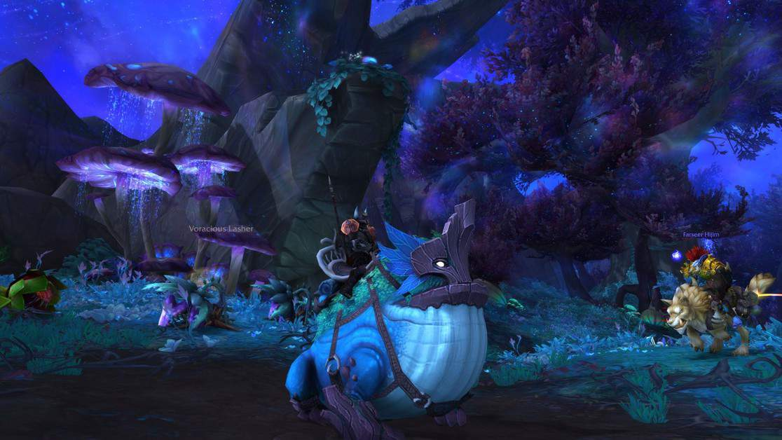 How to Arboreal Gulper Frog Mount in World of Warcraft Shadowlands