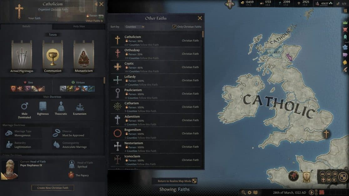 Crusader Kings 3 Religion Guide