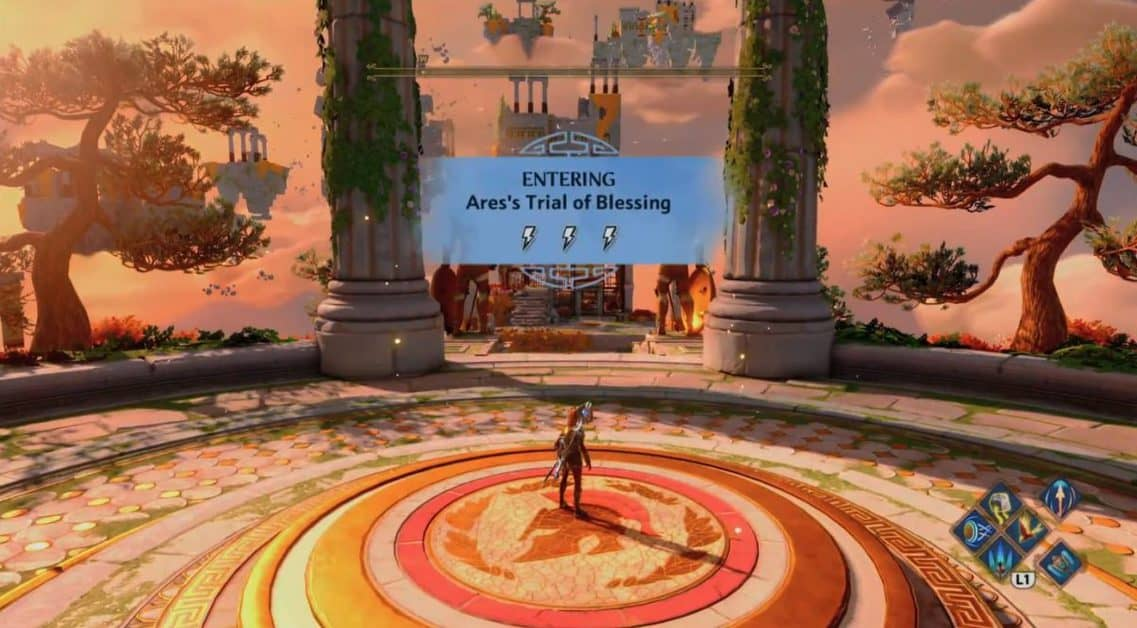 Immortals Fenyx Rising Ares's Trial of Blessing Guide