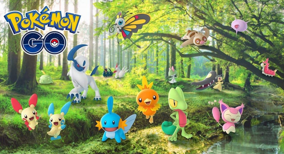 Pokemon Go Hoenn Celebration Event Research Guide