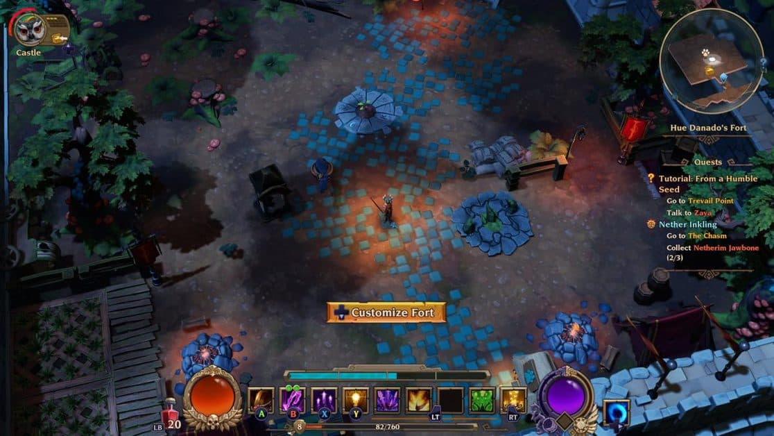 Torchlight 3 From a Humble Seed Walkthrough