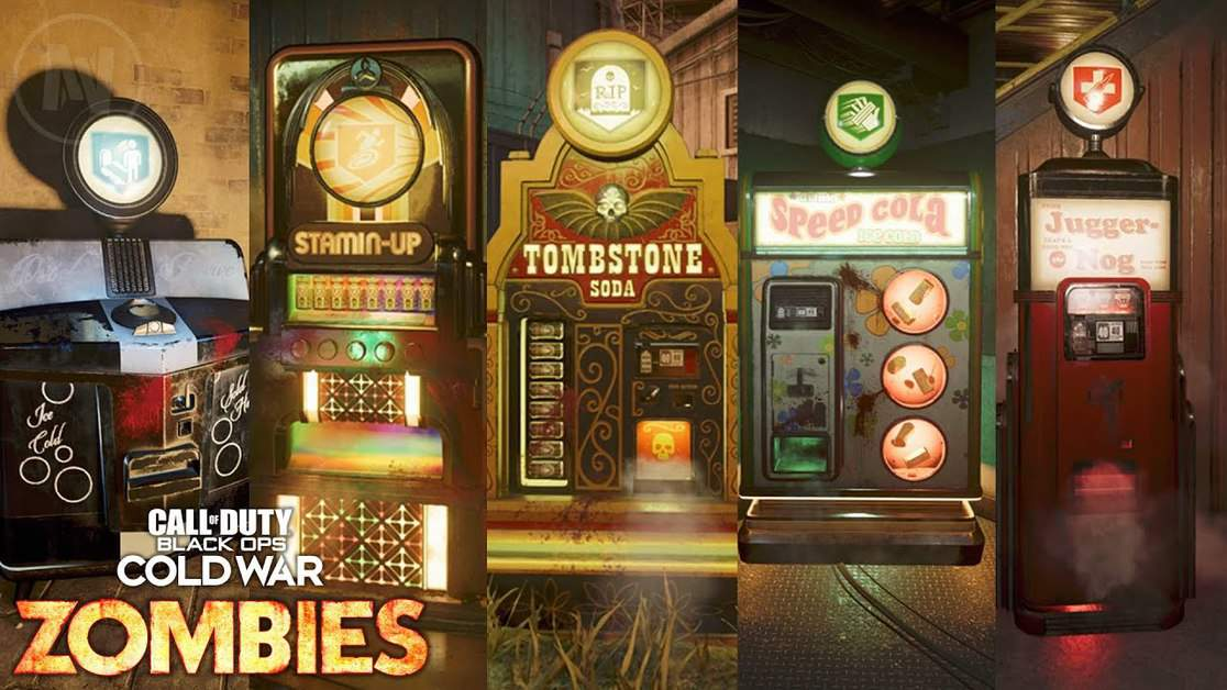 Black Ops Cold War Zombies Firebase Z Perk Machine Locations Guide