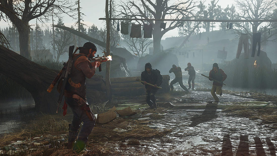 Days Gone PC Requires 70 GB Space, Features Unlocked Frame-Rates And Improved Graphics
