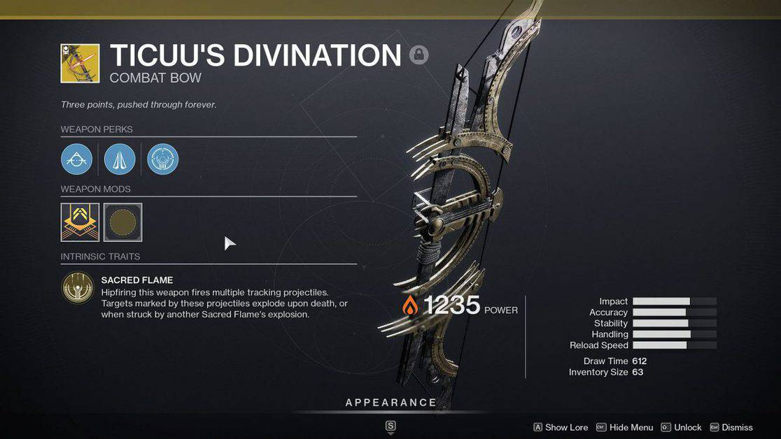 How to Get Ticuu's Divination Exotic Bow in Destiny 2