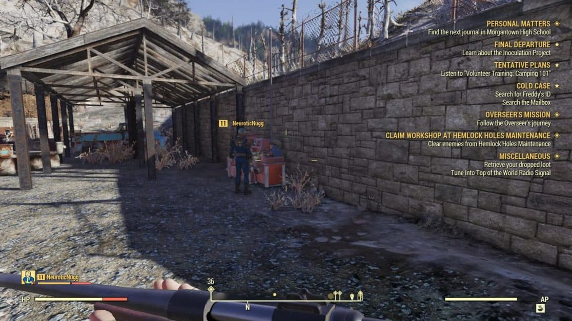 Fallout 76 Wastelanders Plans Locations