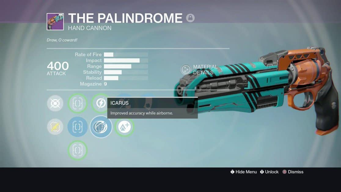 How to Get The Palindrome in Destiny 2