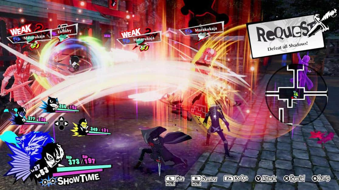 Persona 5 Strikers Physical Skills Guide