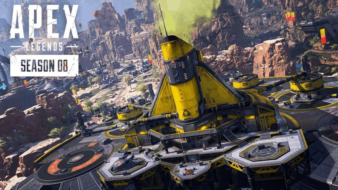 Apex Legends Caustic Treatment Town Takeover