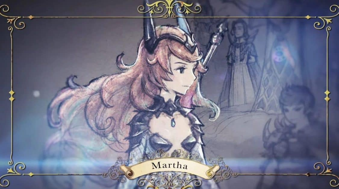 Bravely Default 2 Martha Boss
