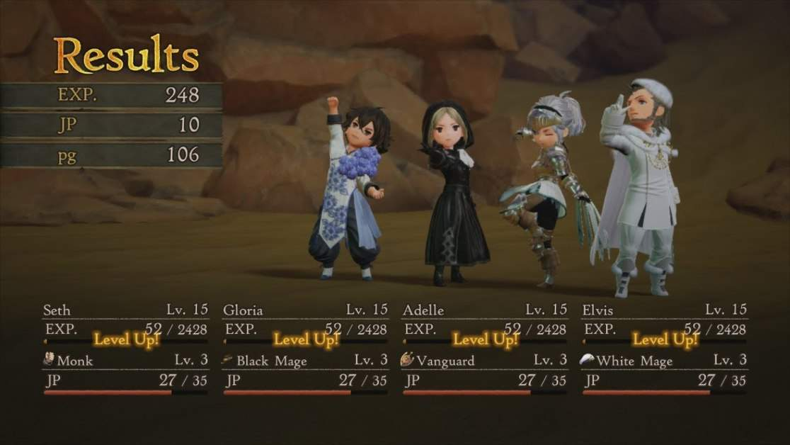 Bravely Default 2 Money Farming