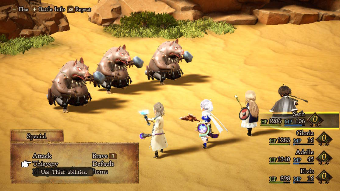 Bravely Default 2 Seek Out the Weakness Again