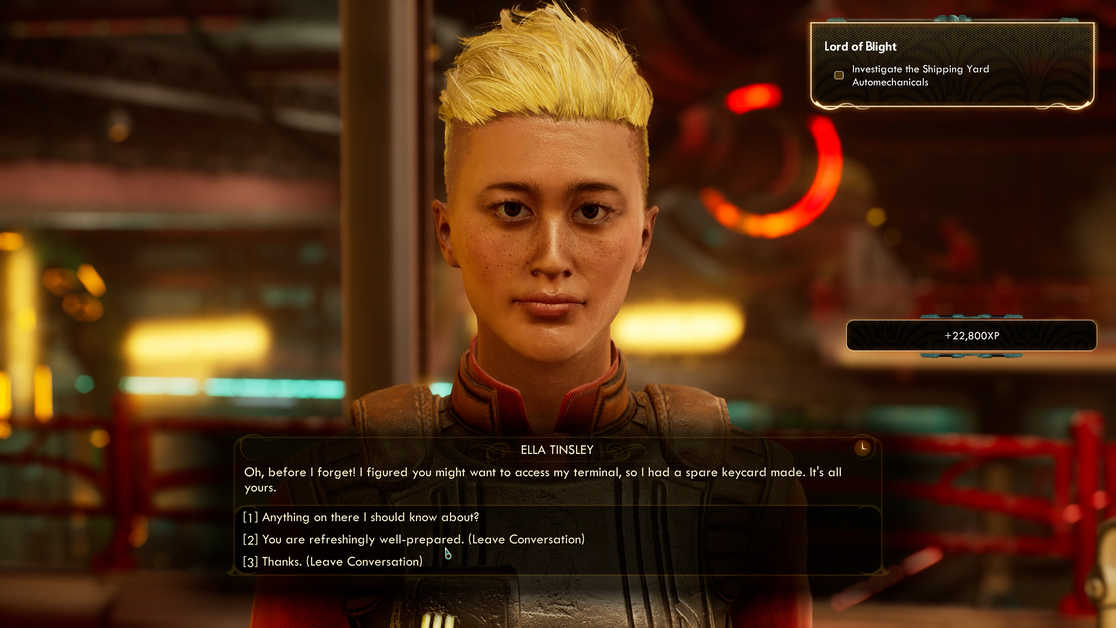 The Outer Worlds Murder on Eridanos Lord of Blight Walkthrough