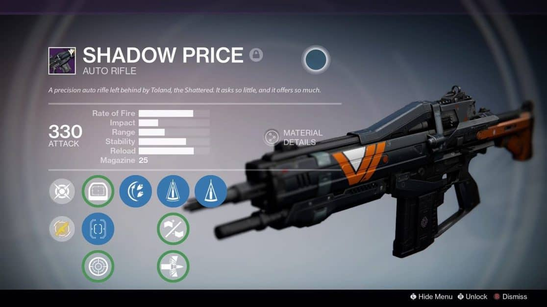 How to Get Shadow Price in Destiny 2