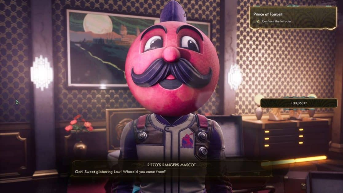 The Outer Worlds Murder on Eridanos Prince of Tossball Walkthrough