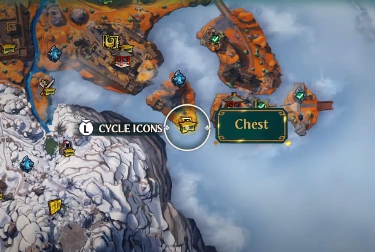 Myths of the Eastern Realm Bu Zhou Chest collectible