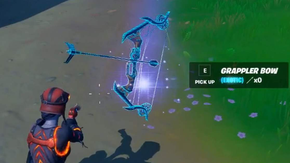 How to Get Exotic Grappler Bow in Fortnite Season 6