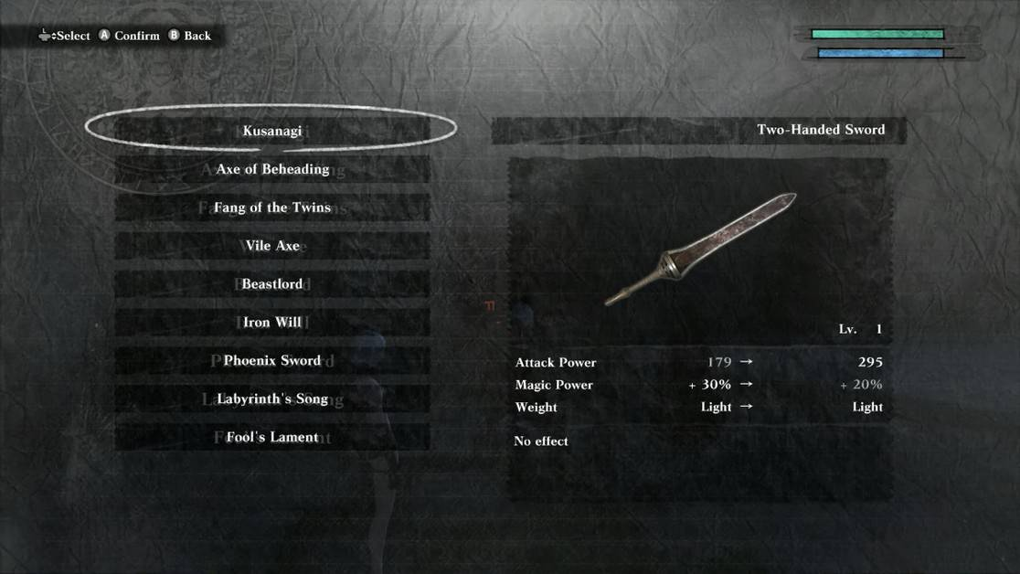 NieR Replicant Best Weapons Guide