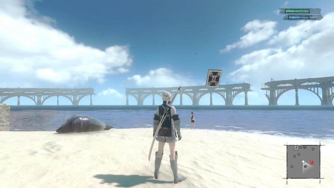 NieR Replicant Seafront Side Quests Guide