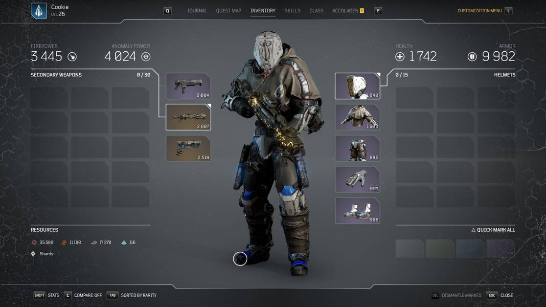 Outriders Best Legendary Weapons Guide