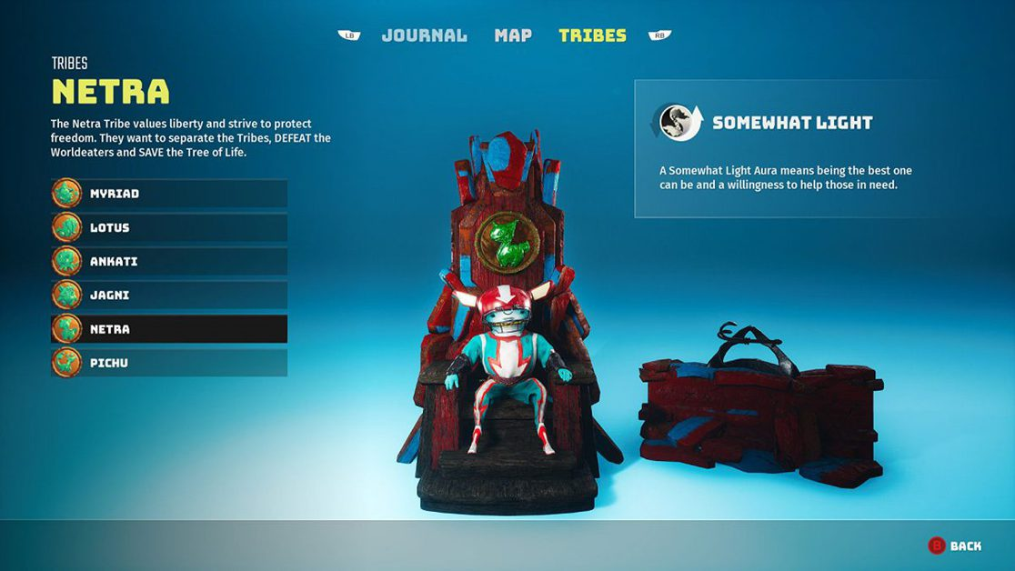 How to Change Tribes in Biomutant