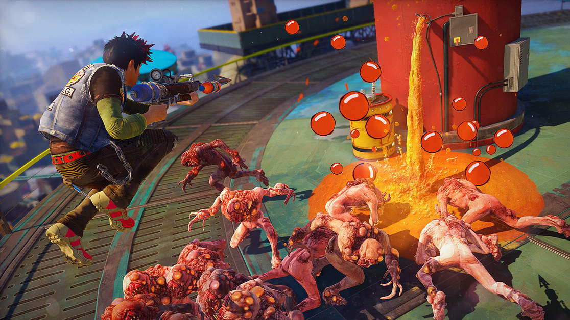 Sony Trademarks Xbox-Exclusive Sunset Overdrive