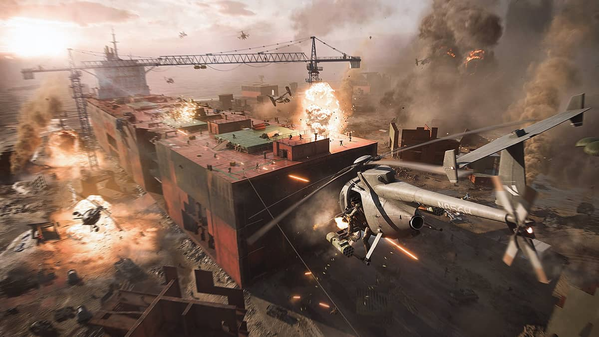 Battlefield 2042 Gameplay Reveal Shows Real-Time Weapon Modifications