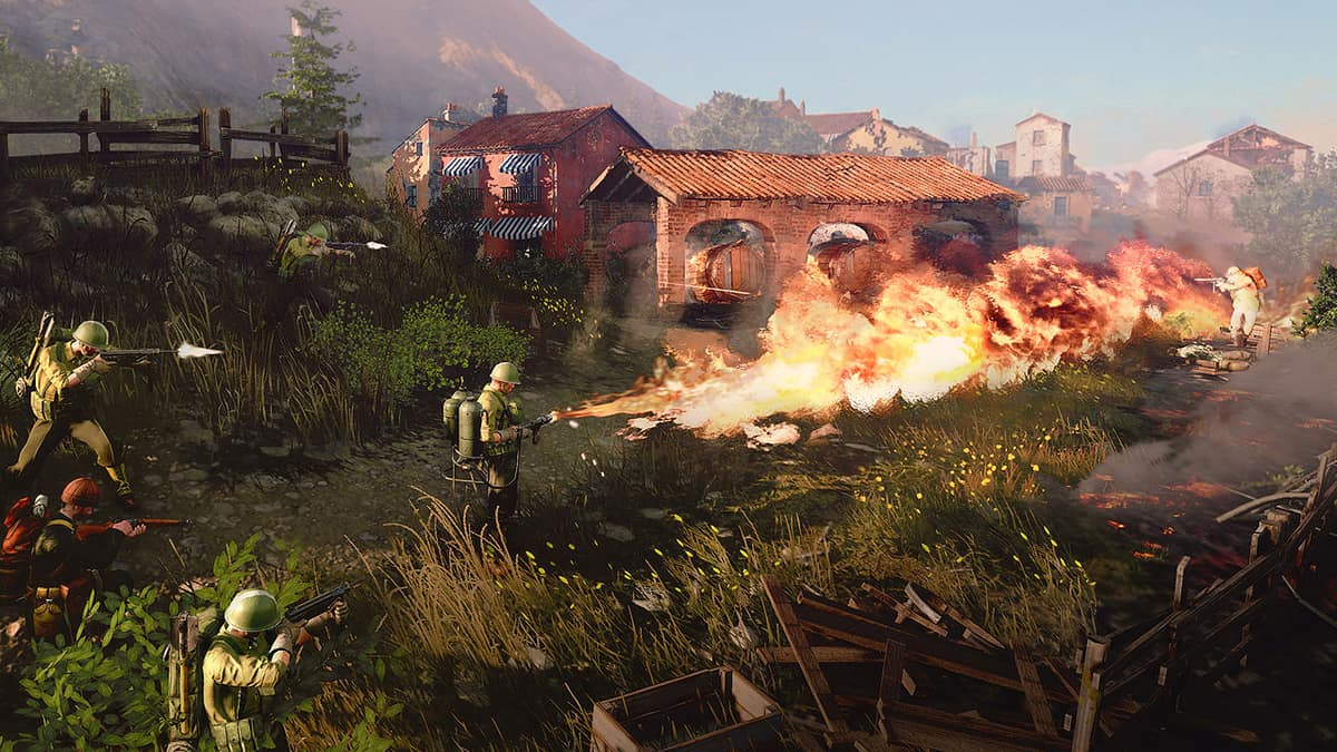 """Company Of Heroes 3's Narrative Focuses A Lot On """"The Rivalry"""" Between US And UK"""