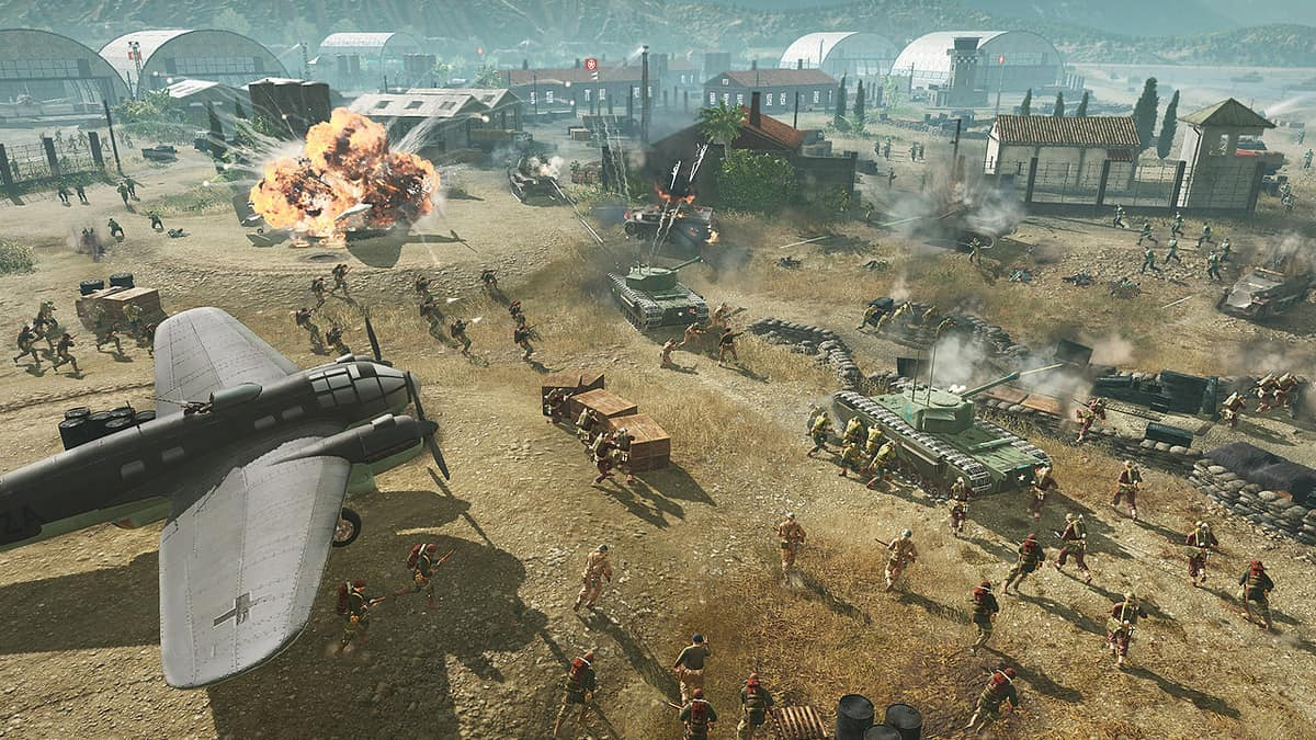 Company Of Heroes 3 Features Multiple Levels Of Destruction