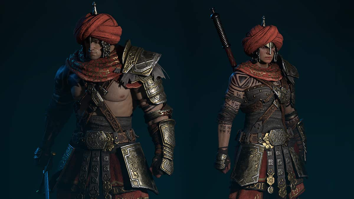 Diablo 4's New Dye System Adds More Depth To Character Customization