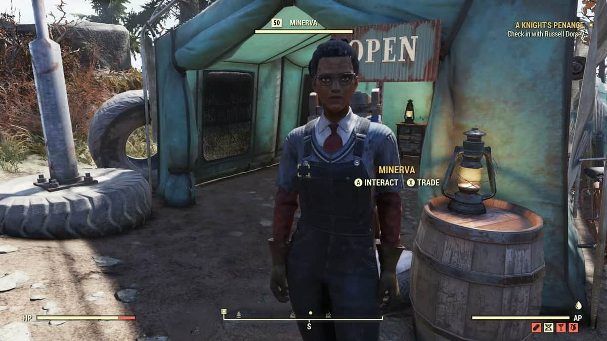 Where to Find Minerva in Fallout 76 Steel Reign