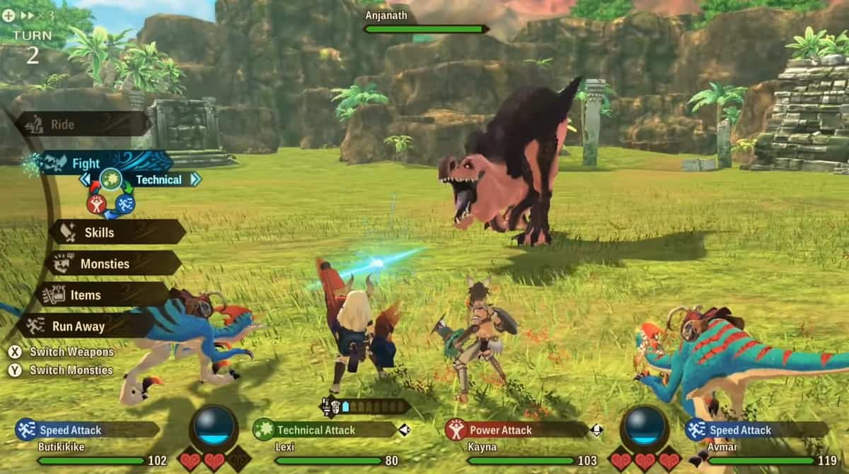 How to Get Anjanath in Monster Hunter Stories 2