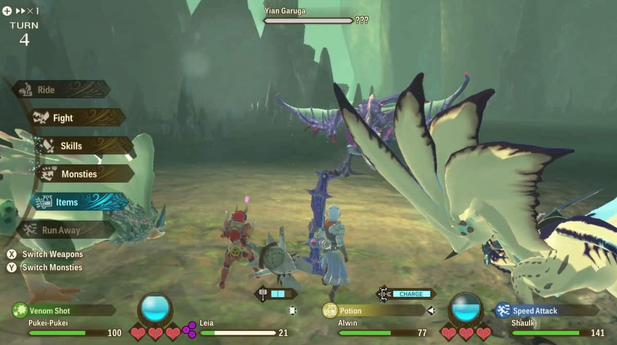 How to Defeat Yian Garuga in Monster Hunter Stories 2: Wings of Ruin