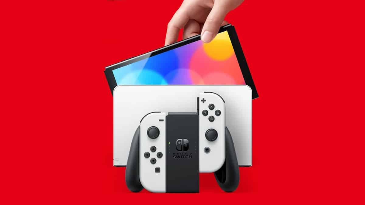 Nintendo Switch OLED Model Brings 1080p 7-Inch Display, 64GB Storage, New Dock With LAN Port