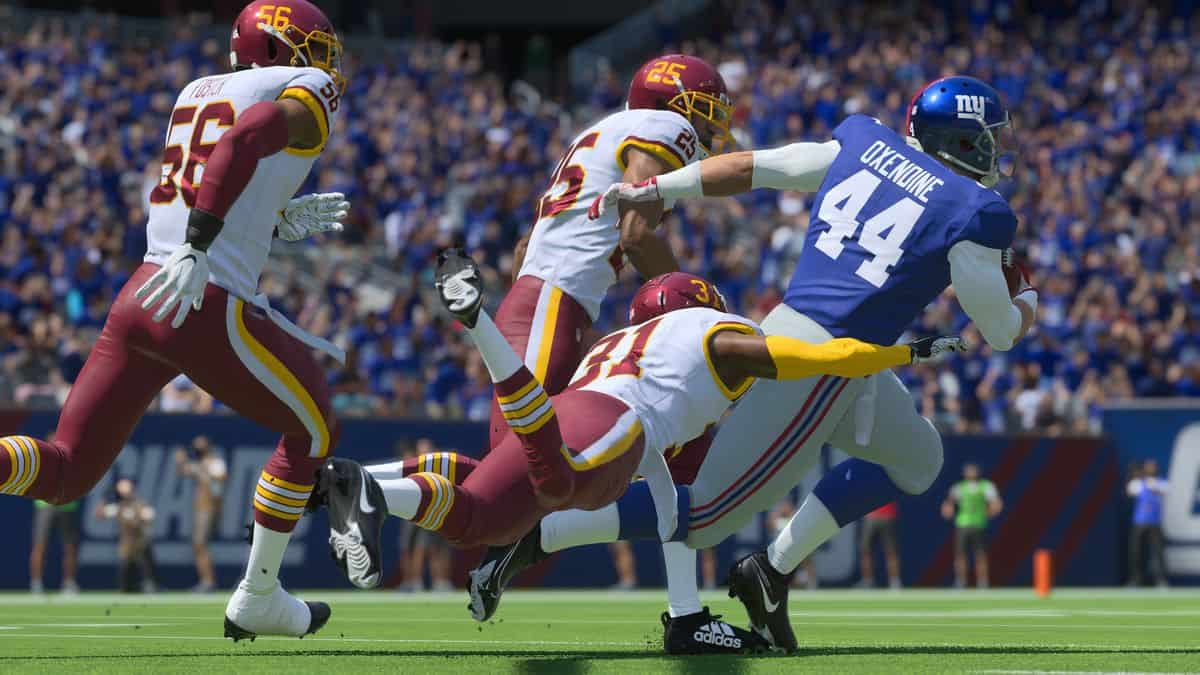 Madden NFL 22 Best the Yard Classes