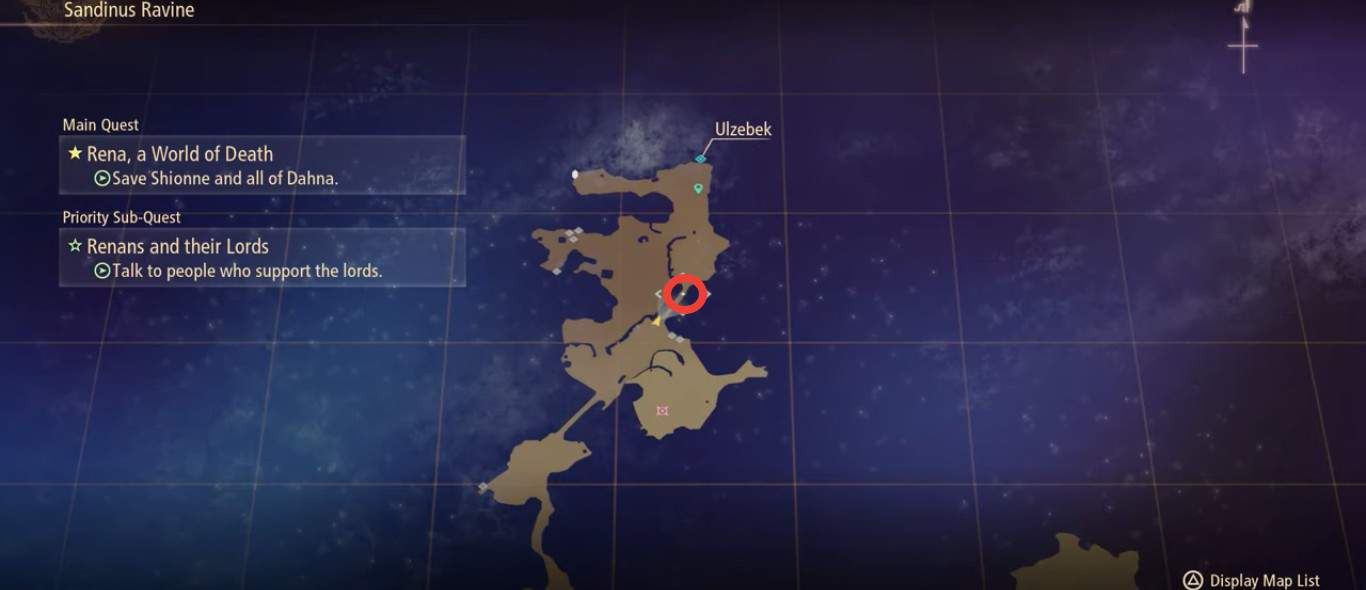 Tales of Arise Owl Location 1