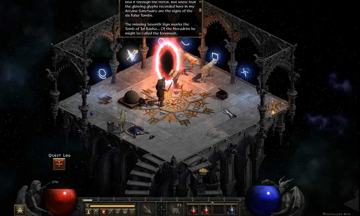 Where to Find the Palace Cellar in Diablo 2 Resurrected