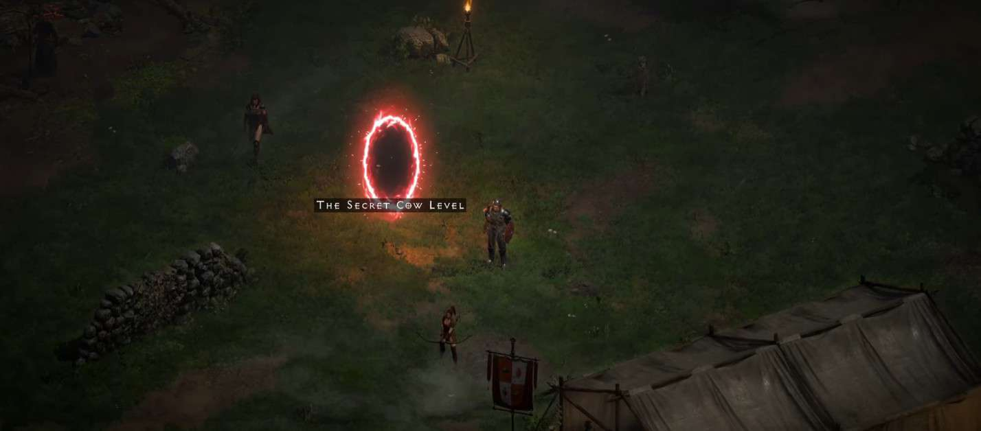How to Access the Secret Cow Level in Diablo 2 Resurrected