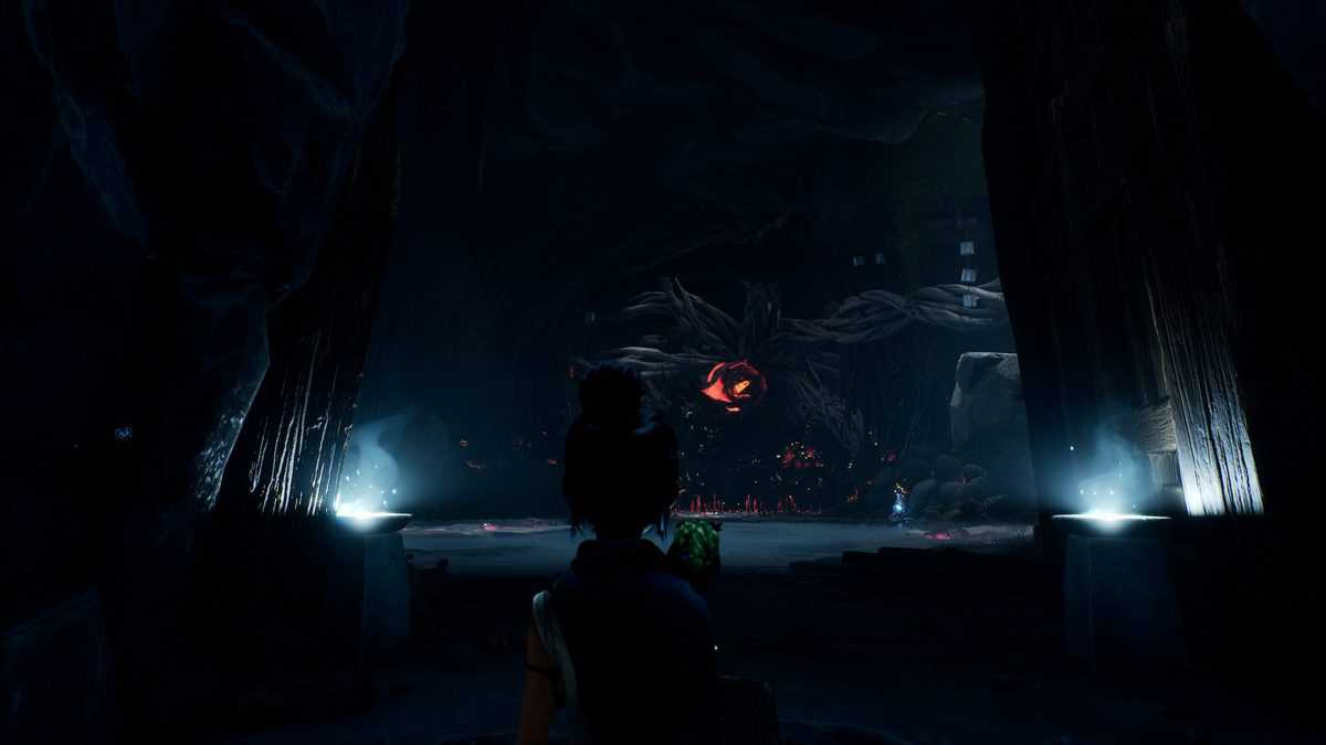 Clear the Corruption in the Ancient Well in Kena: Bridge of Spirits