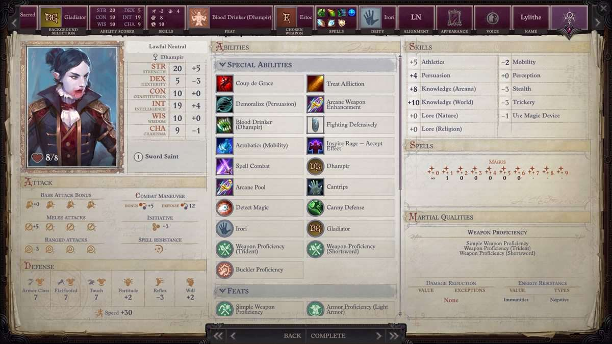 Pathfinder Wrath of the Righteous Custom Portraits