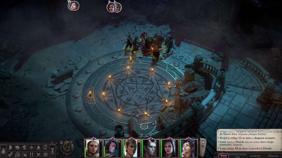 Pathfinder: Wrath of the Righteous Nameless Ruins Puzzle Guide
