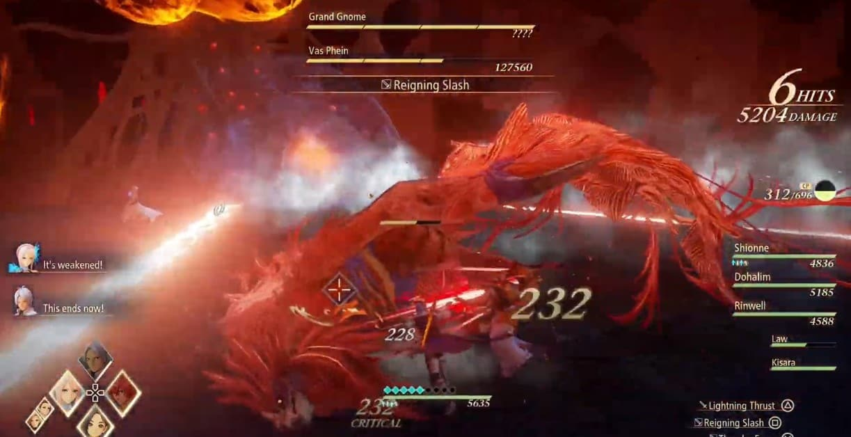 Tales of Arise Grand Gnome Boss Guide