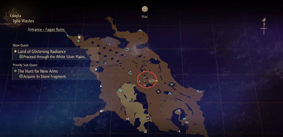 Tales of Arise Stone Fragments Locations
