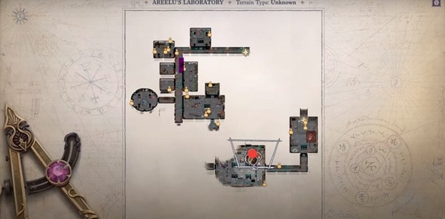 Pathfinder Wrath of the Righteous Areelu's Crystals Location 3