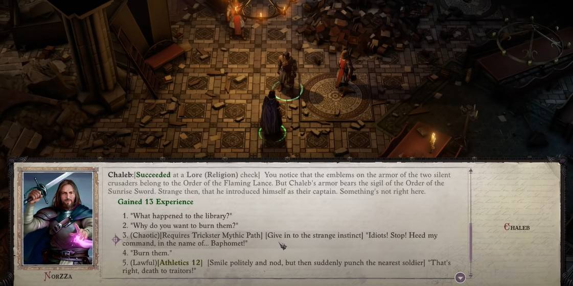 Trickster Mythic Path in Pathfinder Wrath of the Righteous