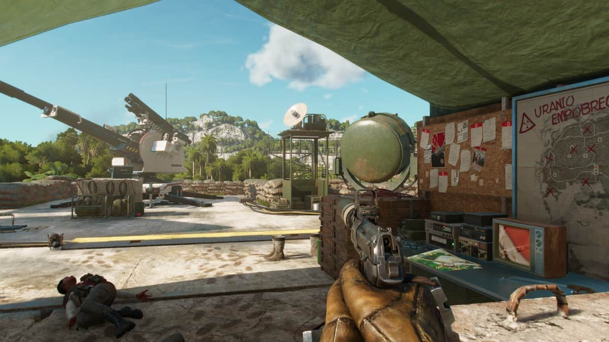 Destroy Anti-Aircraft Cannons in Far Cry 6