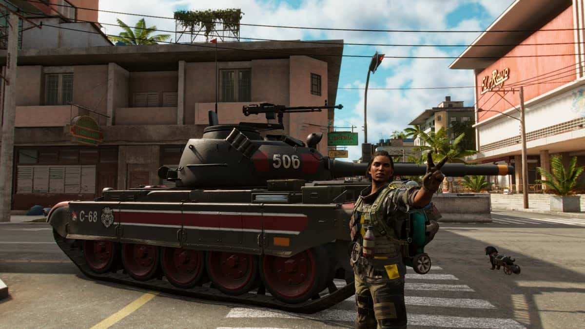 How to Capture Military Vehicles in Far Cry 6
