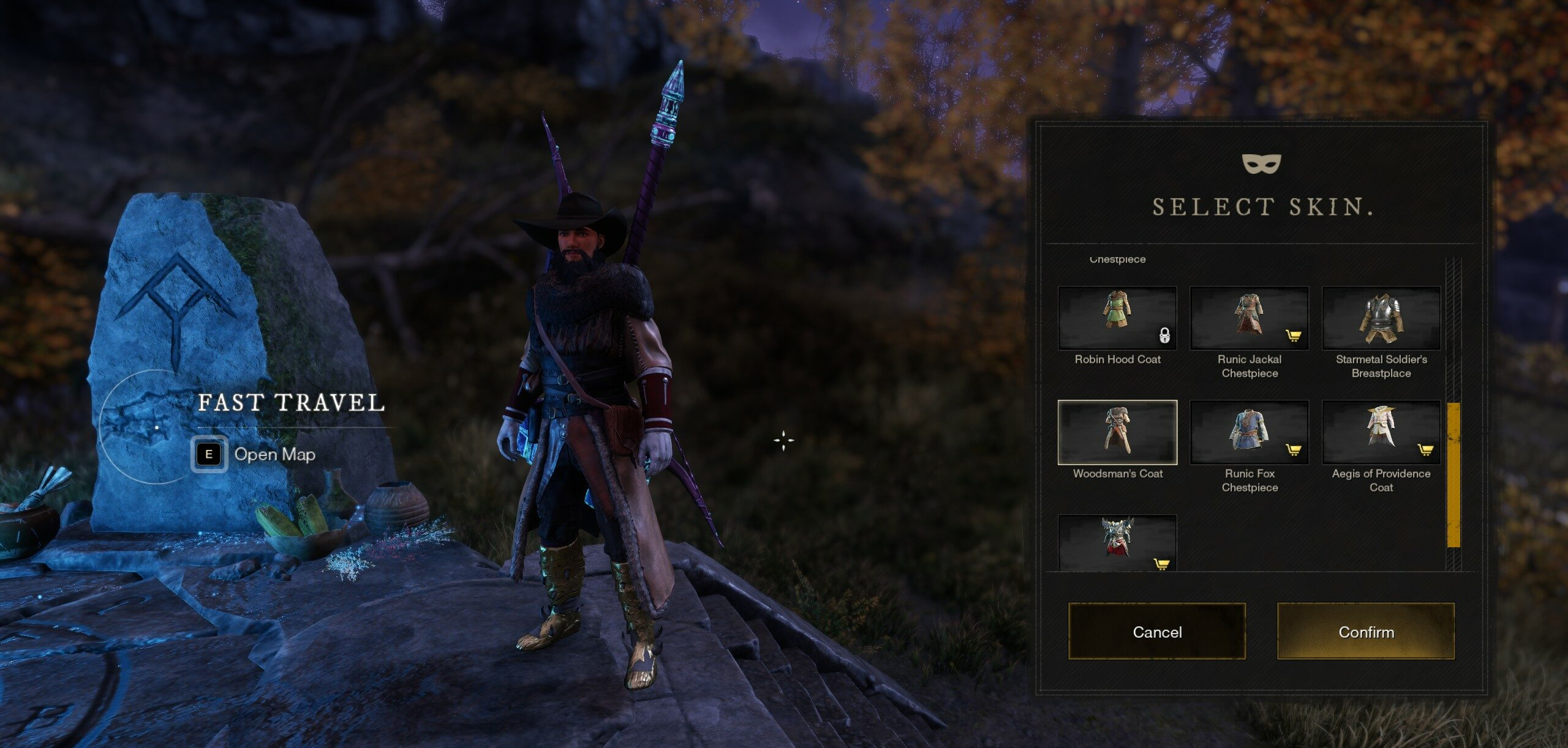 How to Get the Woodsman Armor Skin in New World
